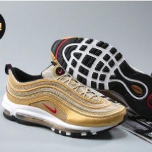 Other - Air Max 97 OG Metallic Gold and Varsity Red-White-